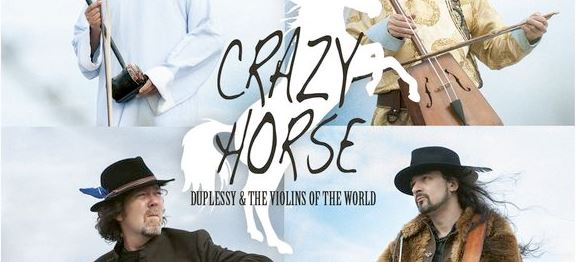 Duplessy & The Violins of the World Nouvel - album Crazy Horse