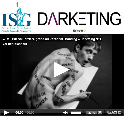 DARKETING épisode 3 : «Réussir sa carrière grâce au personal branding» : Do you Darketing?