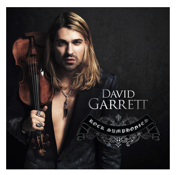 David Garrett arrive en France avec l'album Rock Symphonies