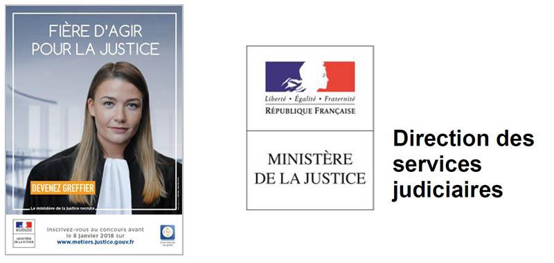 Le ministère de la Justice recrute: