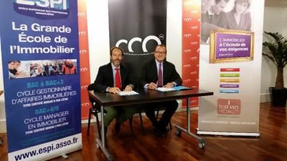 Une convention de partenariat avec le Cabinet THIERRY Immobilier