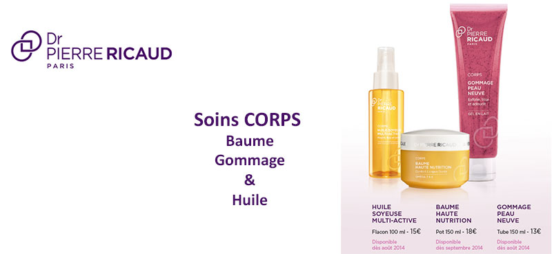 Gommage, baume et huile soyeuse