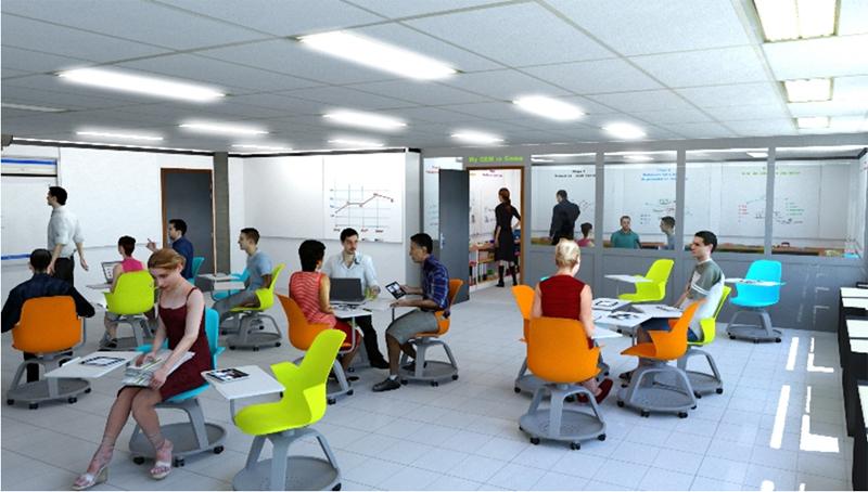 GEM : Une salle dédiée à la création de serious games