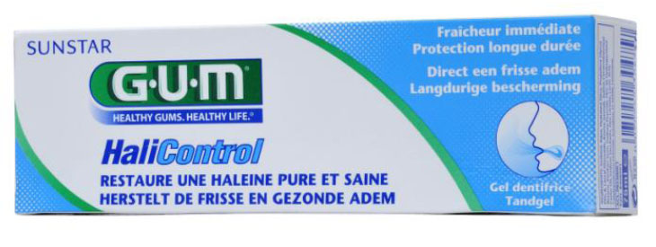 Le gel dentifrice GUM® HaliControl(TM)