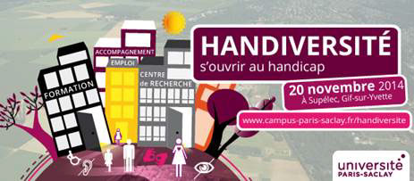 L'Université Paris-Saclay organise le colloque Handiversité :