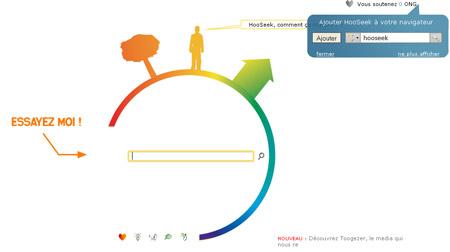 Hooseek un moteur de recherche qui rapporte de l 39 argent for Entreprise qui rapporte