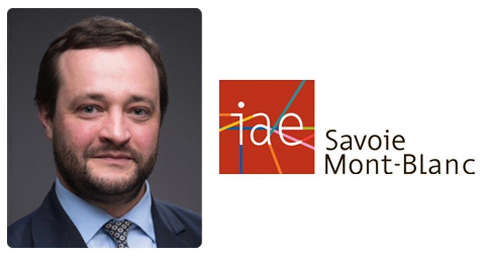 Jérôme RIVE, réélu Président IAE FRANCE