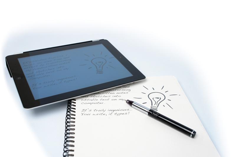 etudiant high tech   un simple stylo pour prendre ses