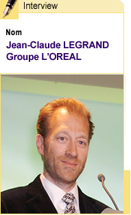 Interview de JC Legrand, directeur international du recrutement du Groupe l'Oréal.