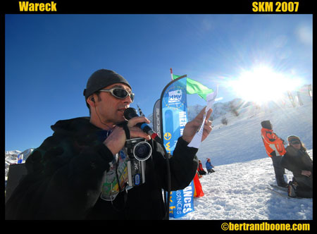 Kite surf et snowkite : Interview de Wareck Arnaud,
