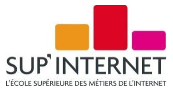 Master classes : le RDV des experts à SUP'Internet