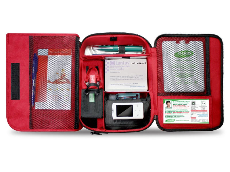 Mabox Diabète : des sacs de transpprt ingénieux et efficaces pour l'insuline et le matériel de soins des diabétiques
