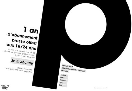 Bon plan abonnement presse étudiant : Monjournaloffert.fr