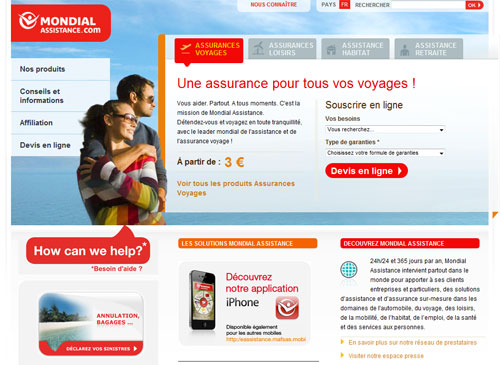Mondial Assistance lance le recrutement de 300 collaborateurs pour la saison estivale 2011