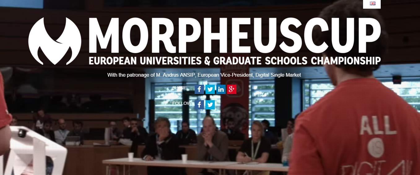 Concours Etudiants Européens par équipe Morpheus Cup