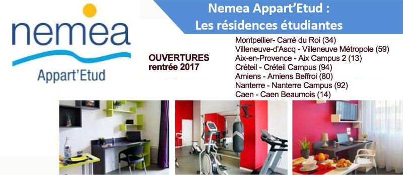 7 nouvelles résidences étudiantes signées Nemea ouvrent pour la rentrée