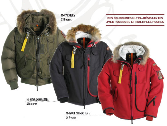 doudoune style parajumpers