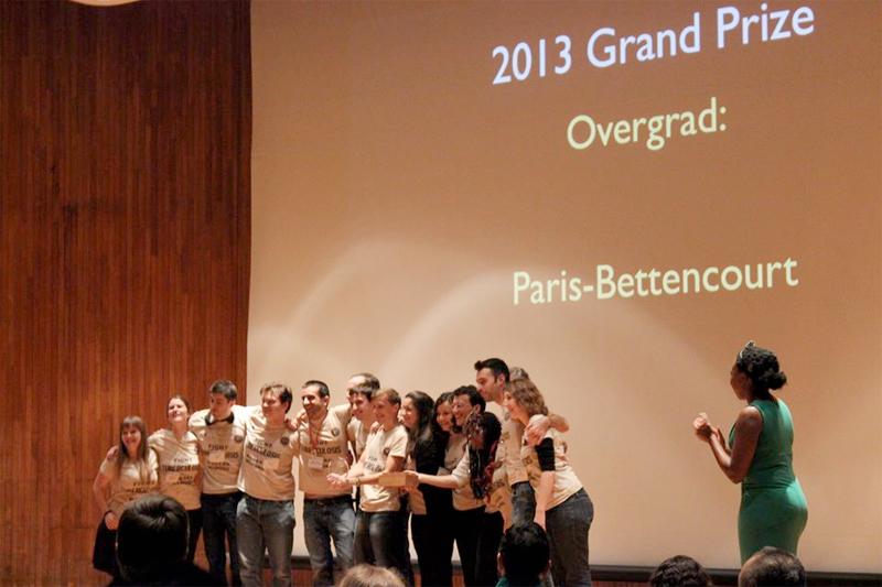 Les étudiants de l'équipe Paris Bettencourt champions du monde du concours de biologie synthétique organisé par le MIT