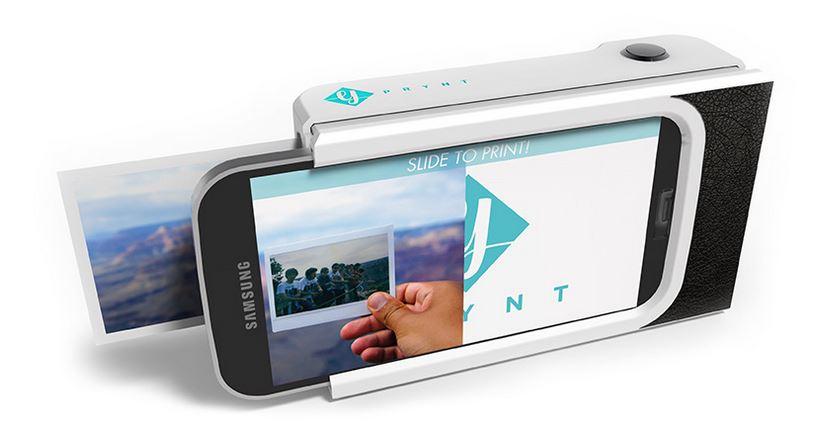 renaissance du bon vieux polaroid avec prynt case une coque pour smartphone qui imprime les photos. Black Bedroom Furniture Sets. Home Design Ideas