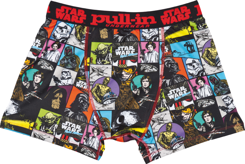 Version Pull-in STAR WARS patchworks