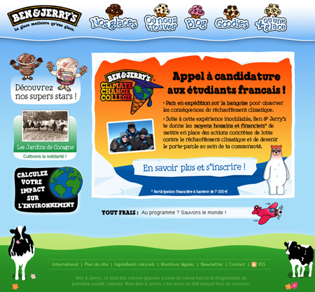 Stage en Arctique :  Ben & Jerry's recrutent !