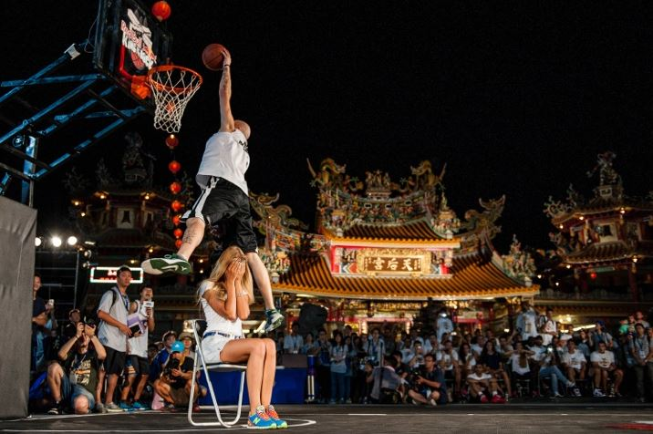 Red Bull King of The Rock : Tournoi international de streetball 1 contre 1