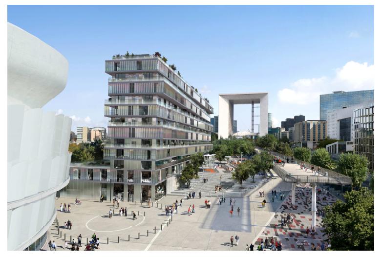 Bientôt une résidence étudiante au coeur de la Défense : Cap sur le projet ONE