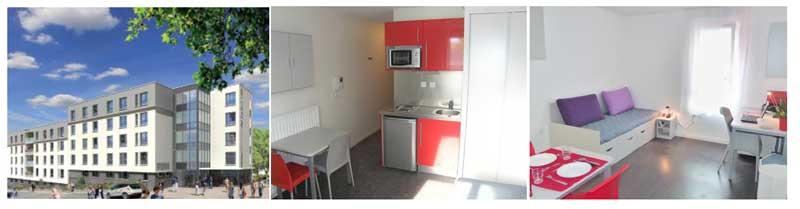 Logement étudiant à BRON : une nouvelle résidence pour étudiants, Studélites à Bron (69)