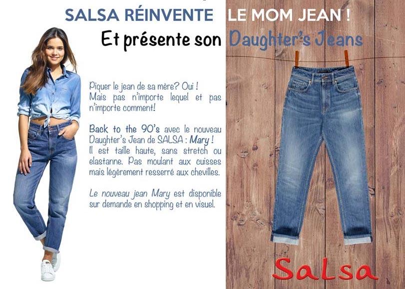 SALSA présente son nouveau jeans MARY!