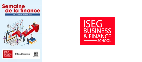 Semaine de la Finance » 2016 de l'ISEG Business & Finance School