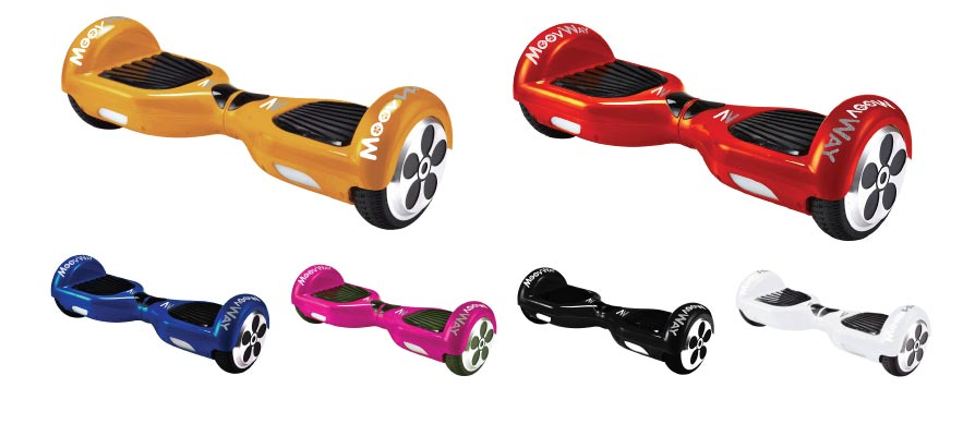 Avez vous déjà entendu parler du skate électrique MoovWay