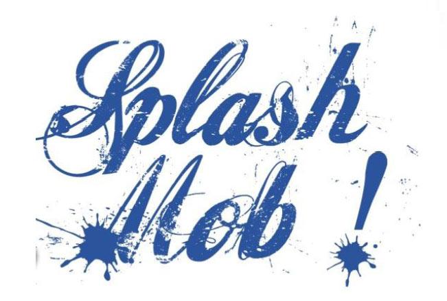 Splashmob oranis e par la ville de troyes - Piscine municipale troyes ...