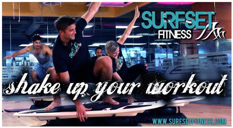 Surfset Fitness : forger un corps de surfer, sur une planche de surf ... à Paris !