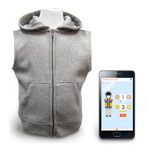 T.Jacket ou la veste connectée pour se procurer des câlins à distance