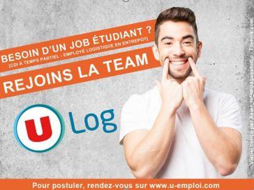 U LOG, filiale du Groupement U propose plus de 400 CDI étudiants