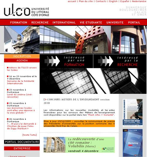 ulco   nouvelle offre de licence