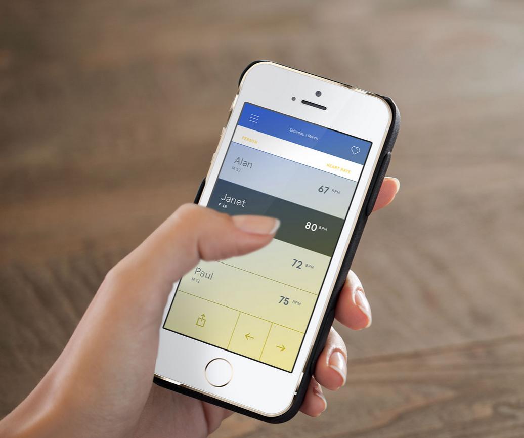 wello une coque pour iphone qui suit le rythme cardiaque de ses utilisateurs objet connect. Black Bedroom Furniture Sets. Home Design Ideas