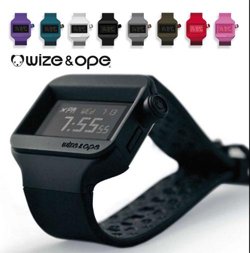 wize ope pr sente la montre tendance swoop une montre interchangeable. Black Bedroom Furniture Sets. Home Design Ideas
