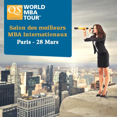 Salon mba internationaux qs world mba tour for Salon mba
