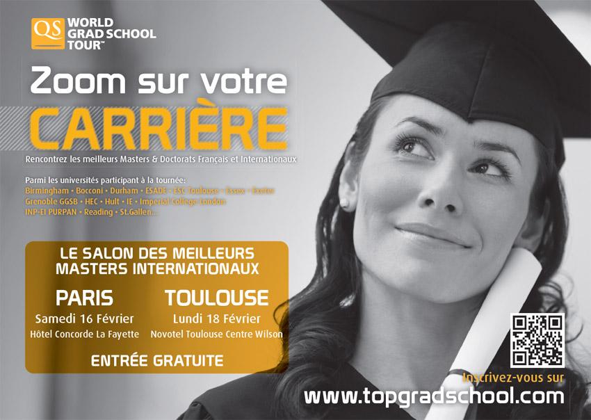 Qs world grad school tour salon des meilleurs masters for Salon des master paris