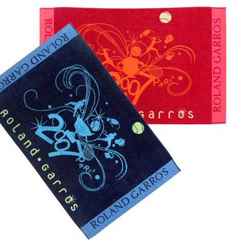 Les accessoires indispensables pour tre habiller aux couleurs de roland garros - Serviette roland garros ...