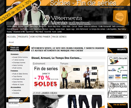 www.vetements-vente.com
