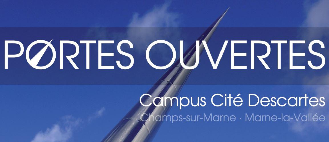 LE CAMPUS CITÉ DESCARTES VOUS OUVRE SES PORTES LE SAMEDI 13 FÉVRIER 2016 (Champs-sur-Marne)