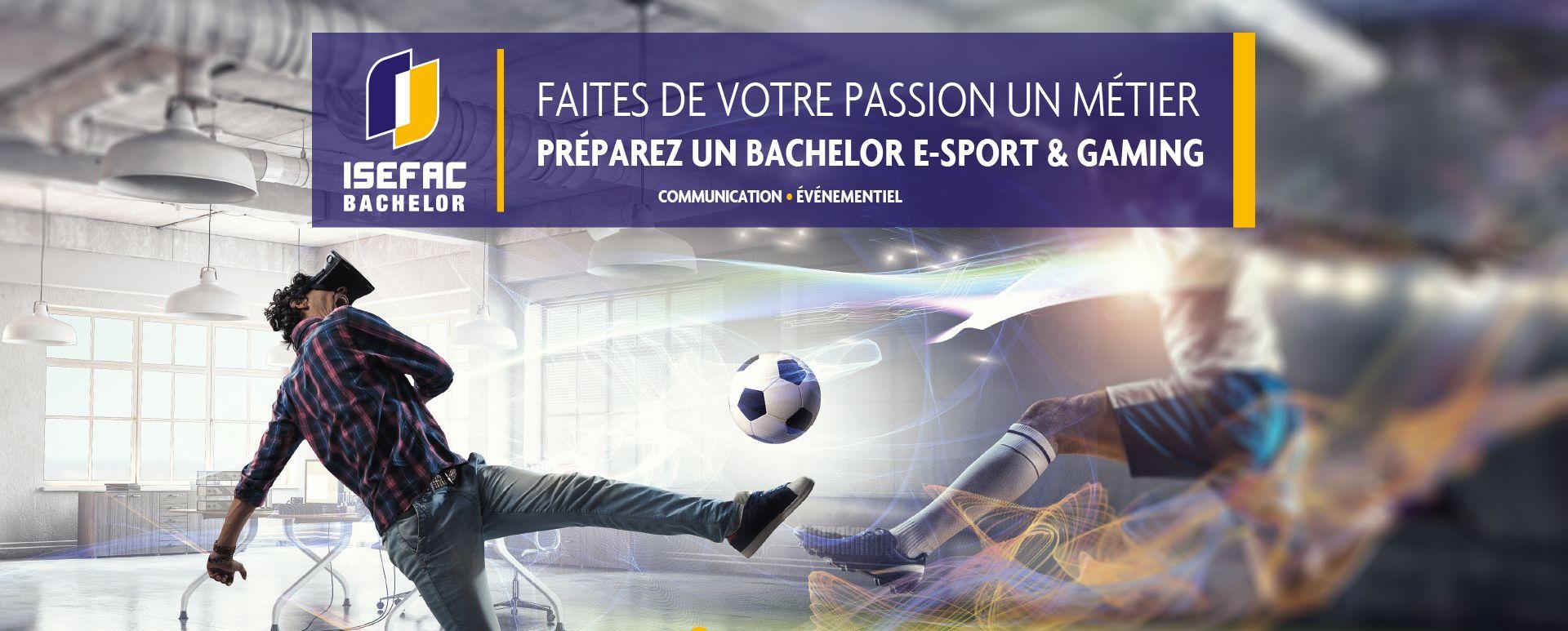 Le Bachelor 100% e-Sport & Gaming à la Paris Games Week