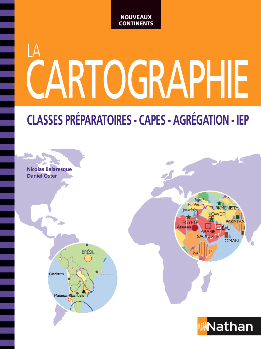 La Cartographie - Editions Nathan