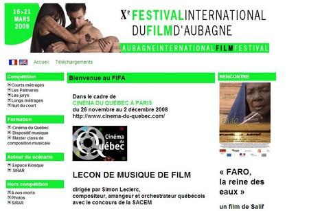 Tentez votre chance au 10ème Festival International du film d'Aubagne