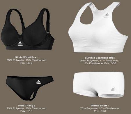 adidas lance des sous v tements 100 sport. Black Bedroom Furniture Sets. Home Design Ideas