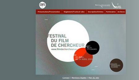 Du 21 au 24 avril 2009 : Le festival du film de chercheur