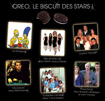OREO, le biscuit des stars !