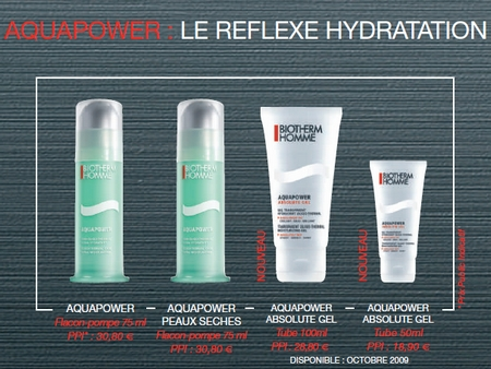 Aquapower: le reflexe hydratation